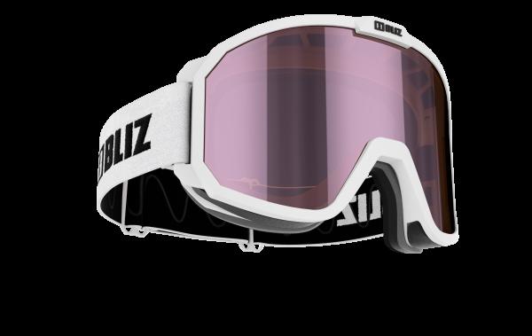 RAVE Matt White - Brown w. Pink Multi Lens